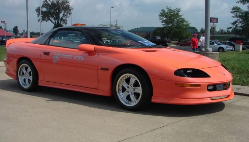 1993 ppg camaro z28 pace car