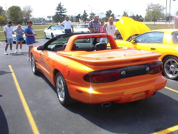 pontiac firebird ppg pace car