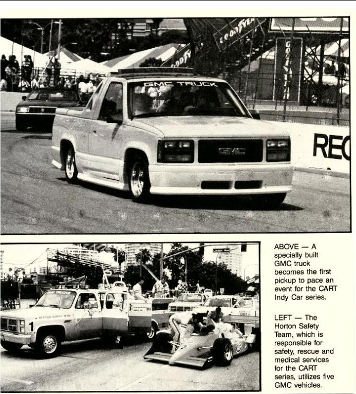 ppg gmc pace truck 1988