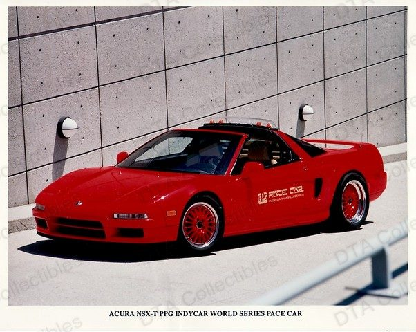 1995 Acura NSX ppg pace car