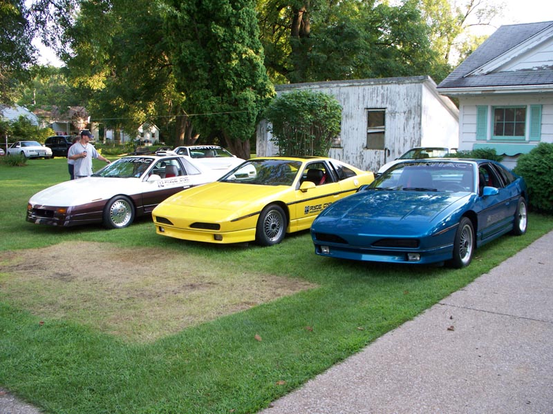 Pontiac Fiero Blue PPG Pace Car