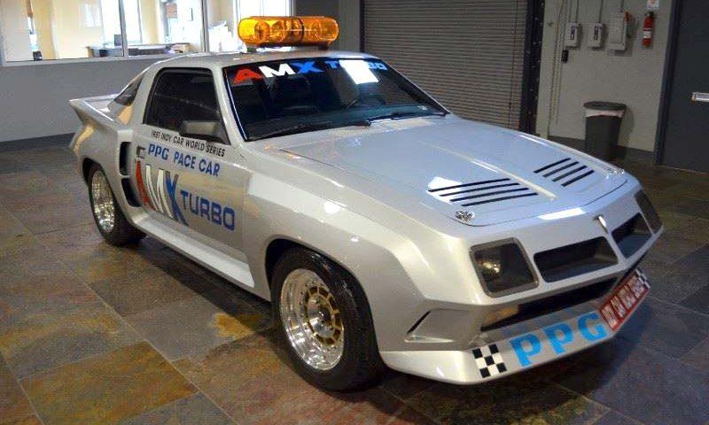 AMC AMX Turbo 1981 ppg pace car