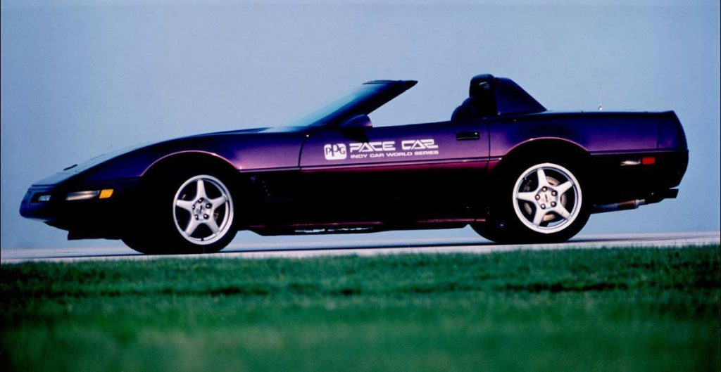 Chevrolet Corvette Convertible Purple PPG Pace Car
