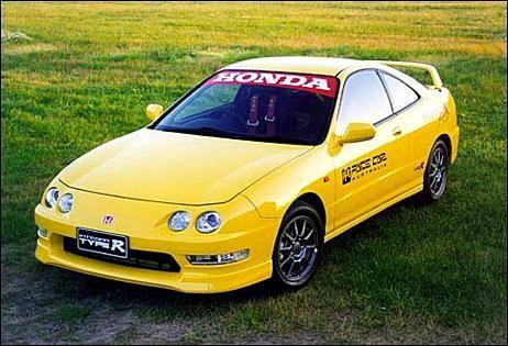 Honda Integra Type R 1999 PPG Pace Car