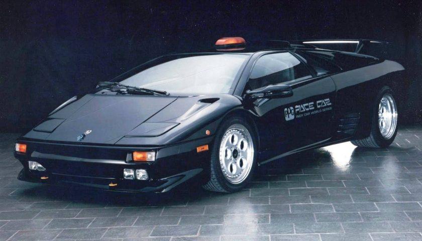 Lamborghini Diablo 1995 PPG Pace Car black