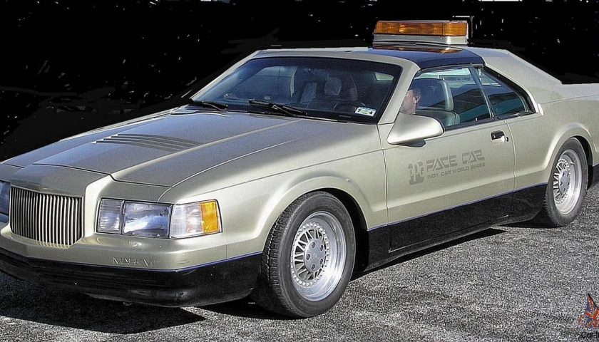 Lincoln Mark Vii ppg pace car 1984