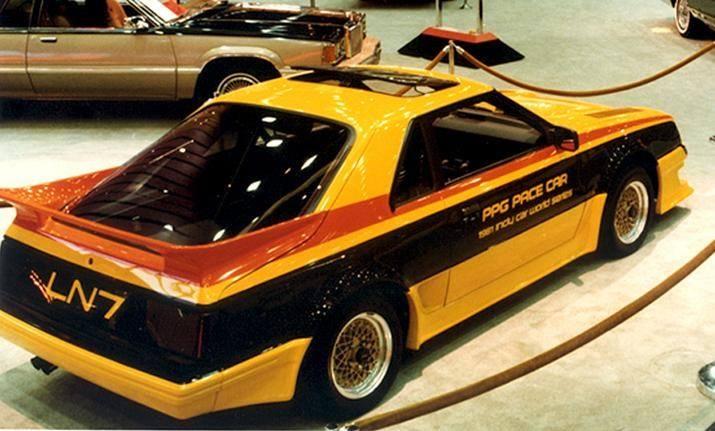 Mercury LN7 - 1981 PPG Pace Car