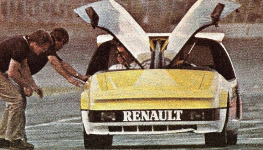 Renault 5 Aero Wedge - PPG Pace Car
