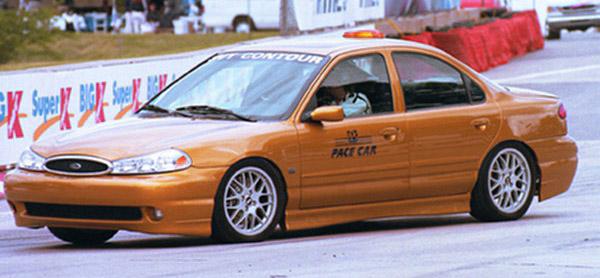 contour svt pace car gold