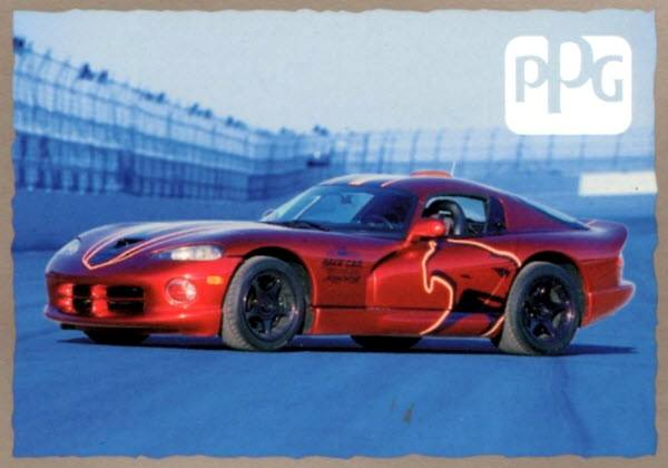 dodge viper gts ppg pace car