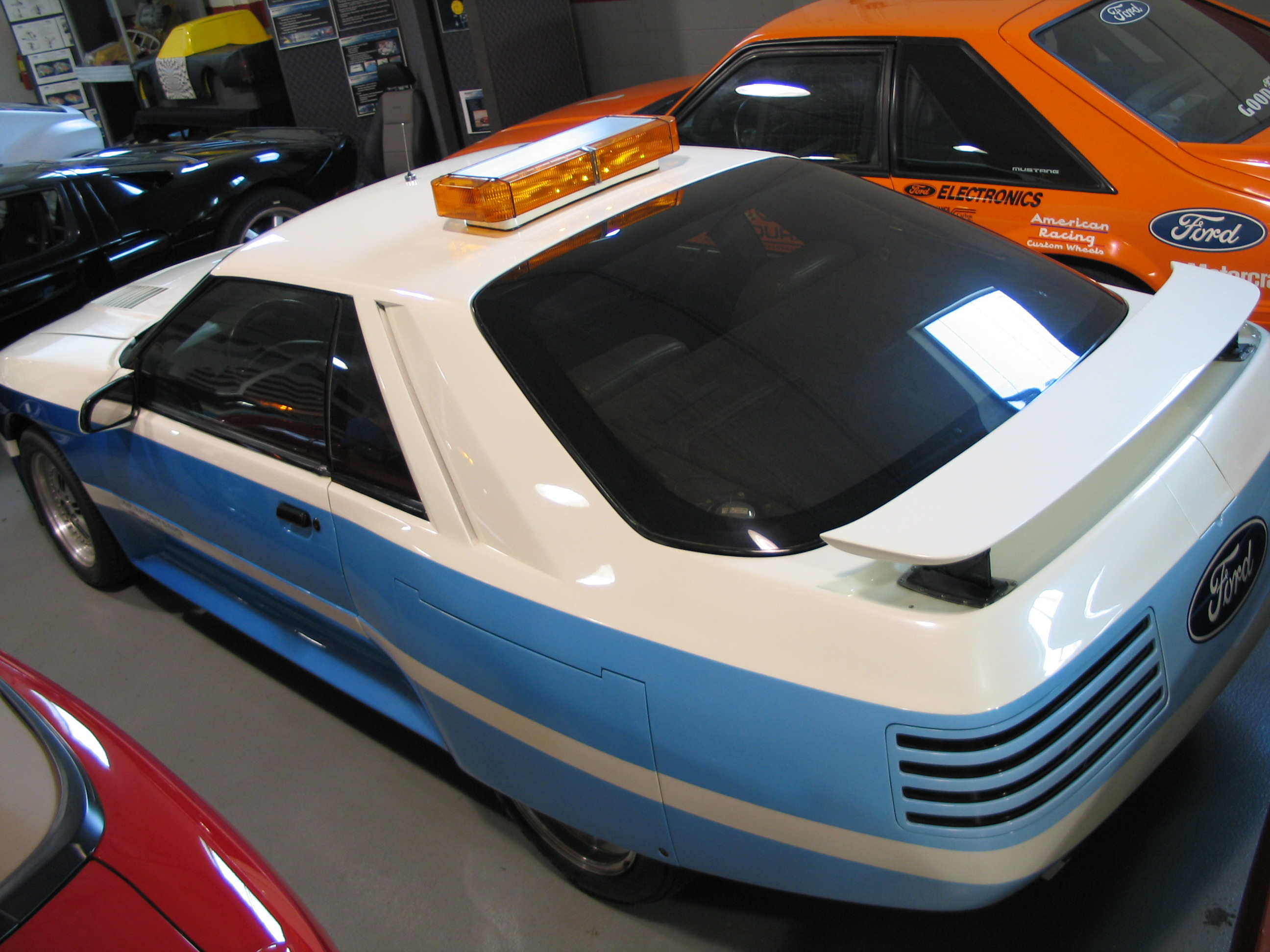 Barber Motorsports Park >> Ford Mustang Concept – 1983 PPG Pace Car – PPG Pace Cars