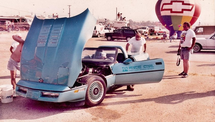 1986 Chevrolet Corvette PPG Pace Car Teal