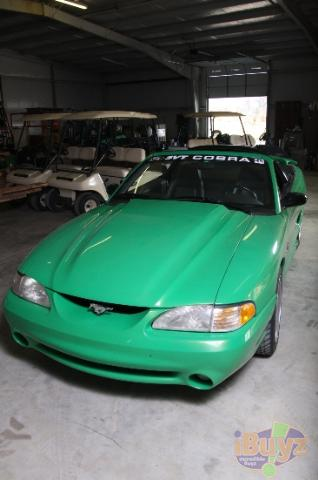 98 Mustang Tail Lights >> Ford Mustang Cobra (Green) – 1994 PPG Pace Car – PPG Pace Cars