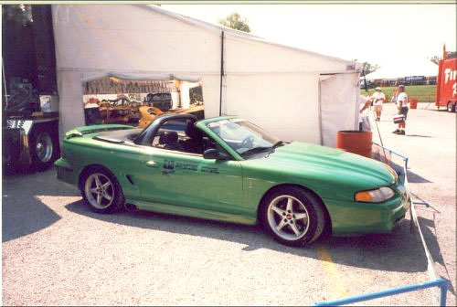 1994 Ford Mustang Cobra PPG Pace Car Green