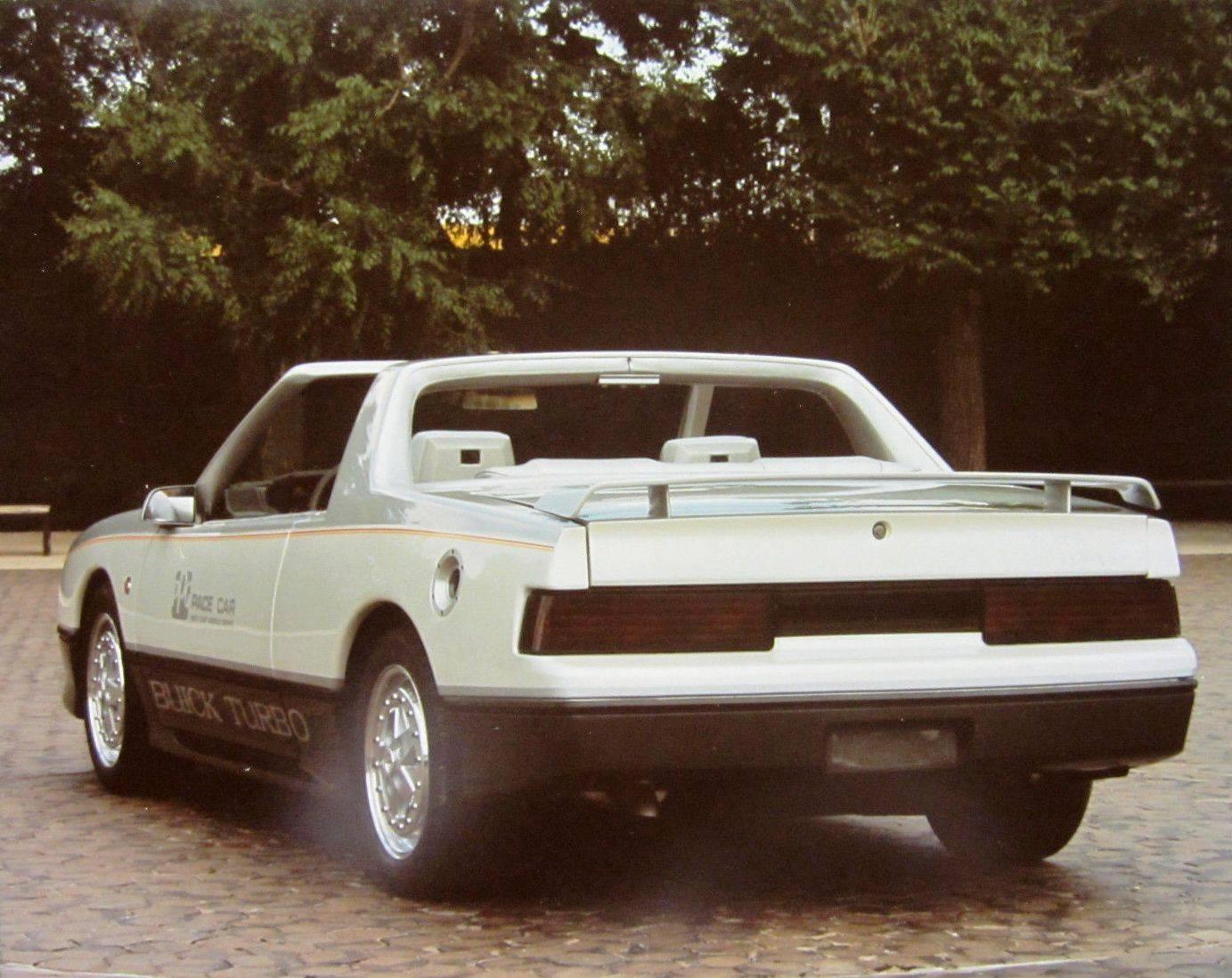 Buick Skyhawk Turbo Ppg Pace Car Rear