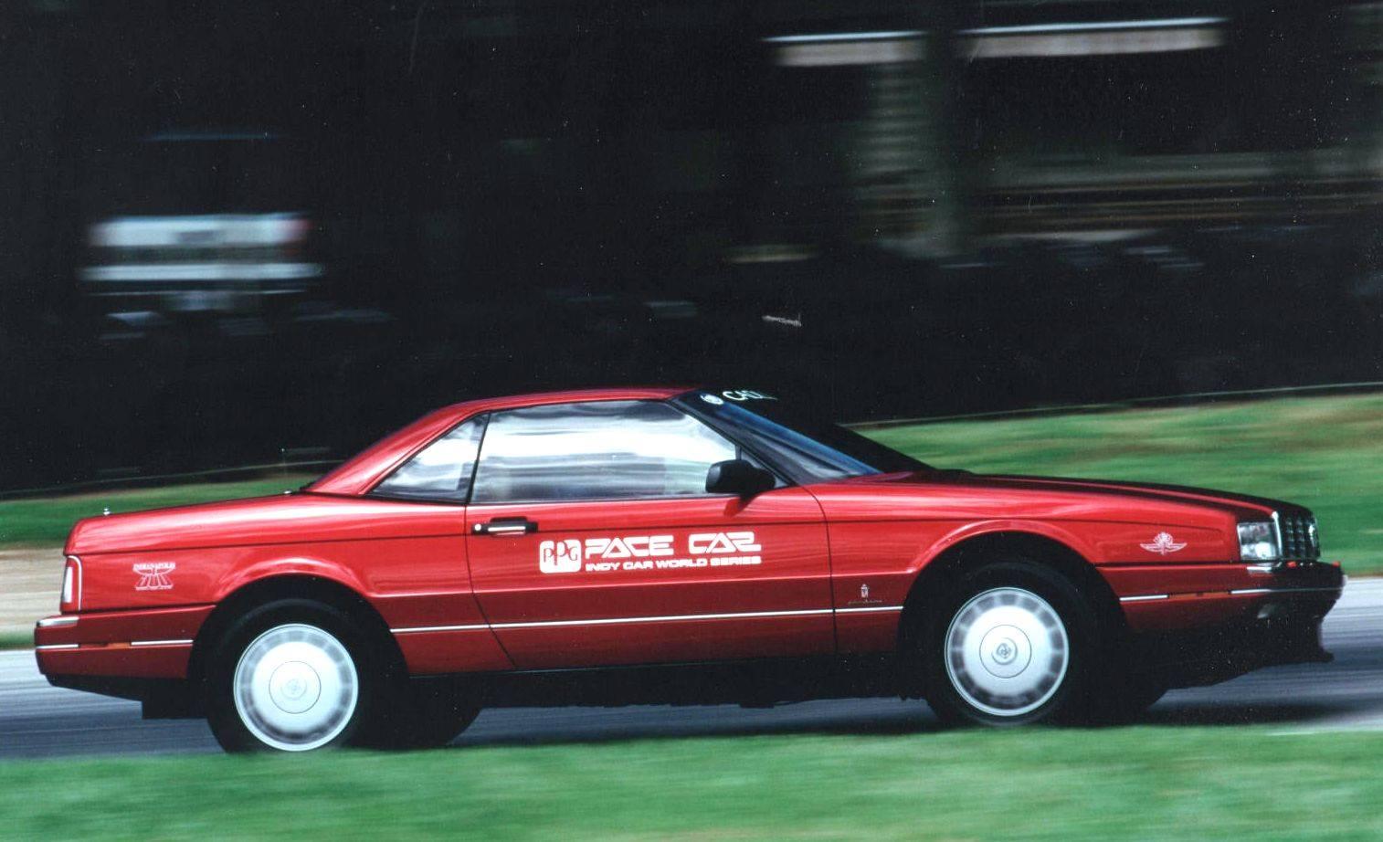 Cadillac Allante 1992 PPG Pace Car