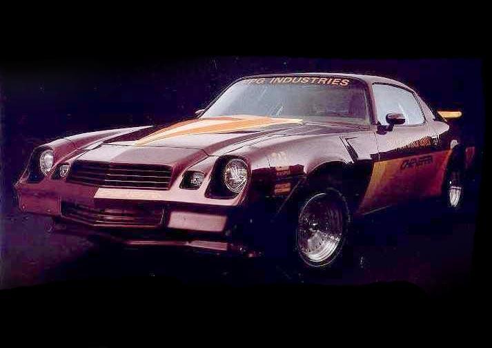 Chevrolet Camaro Cheverra 1980 PPG Pace Car