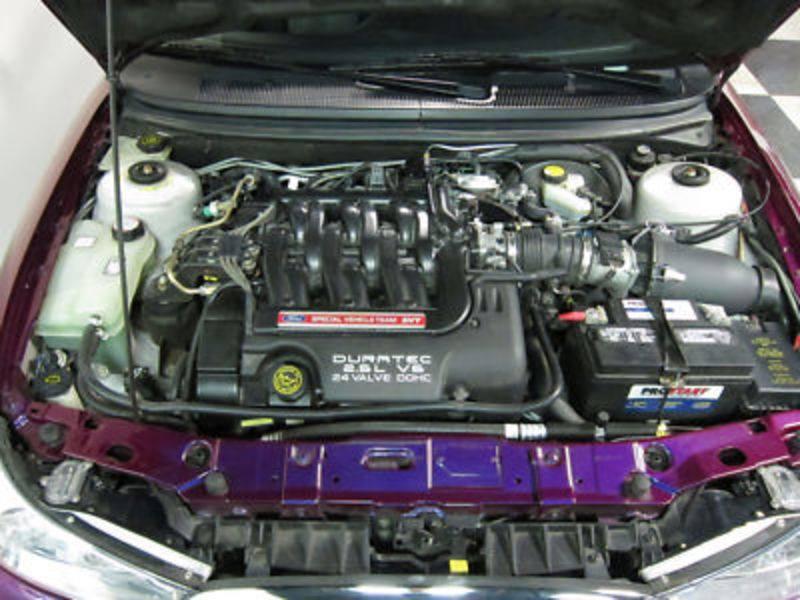 Ford Contour SVT Purple 1998 PPG Pace Car engine