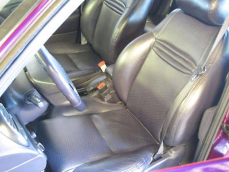 Ford Contour SVT Purple 1998 PPG Pace Car interior