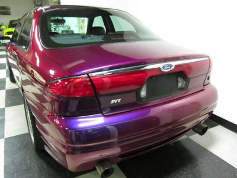 Ford Contour SVT Purple 1998 PPG Pace Car rear