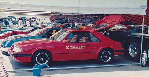 Ford Mustang SVO - PPG Pace Car