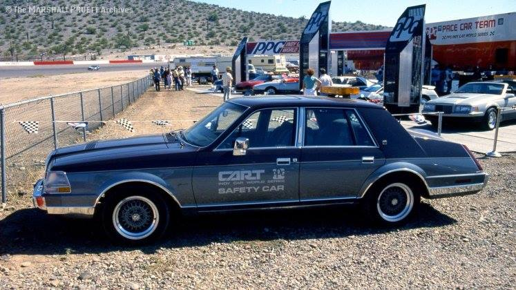 Lincoln Continental 1987 PPG Safety Car