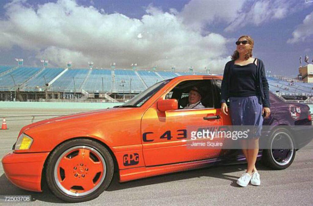 Mercedes Benz C43 AMG orange purple 1998 PPG Pace Car