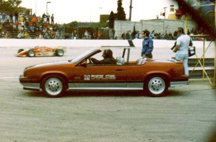 Oldsmobile Cutlass Calais 1985 PPG Pace Car