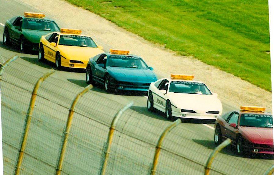 Pontiac Fiero PPG Pace Car Track