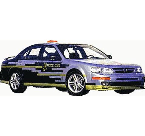 nissan maxima 1997 ppg pace car