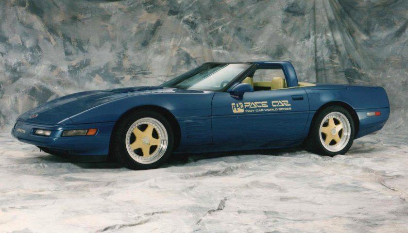 Chevrolet Corvette Convertible Blue 1991 PPG Pace Car