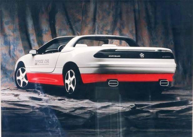 Chrysler-Le-Baron-Concept-pace-car