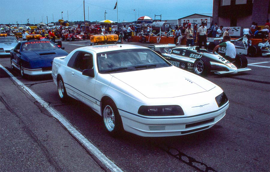 Ford-Thunderbird-1983-PPG-Pace-Car-front-track