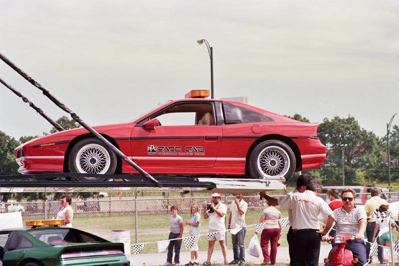 Pontiac Fiero GTP (Red) - 1985 PPG Pace Car
