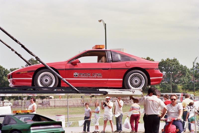 Pontiac Fiero GTP (Red) - 1985 PPG Pace Car
