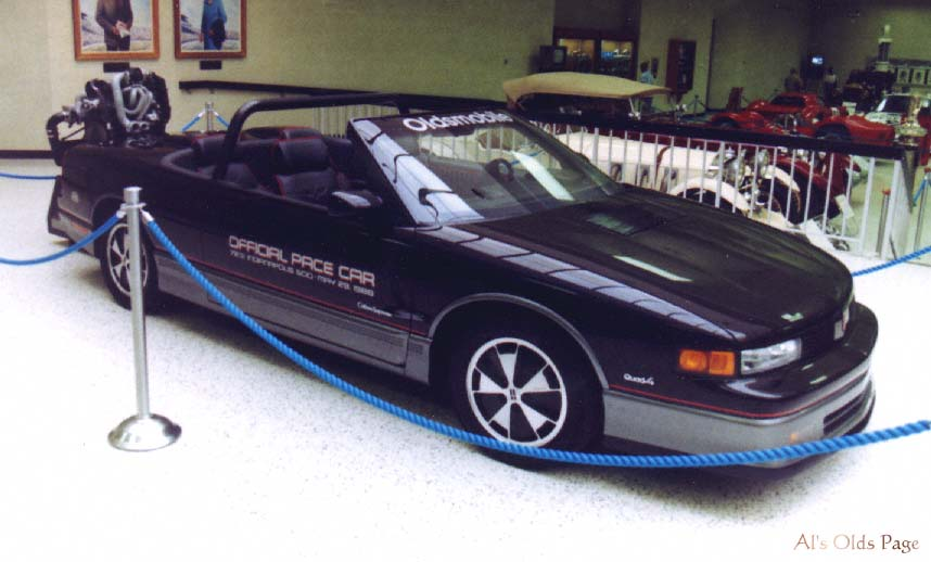 1988 Oldsmobile Cutlass Supreme Indianapolis 500 Pace Car