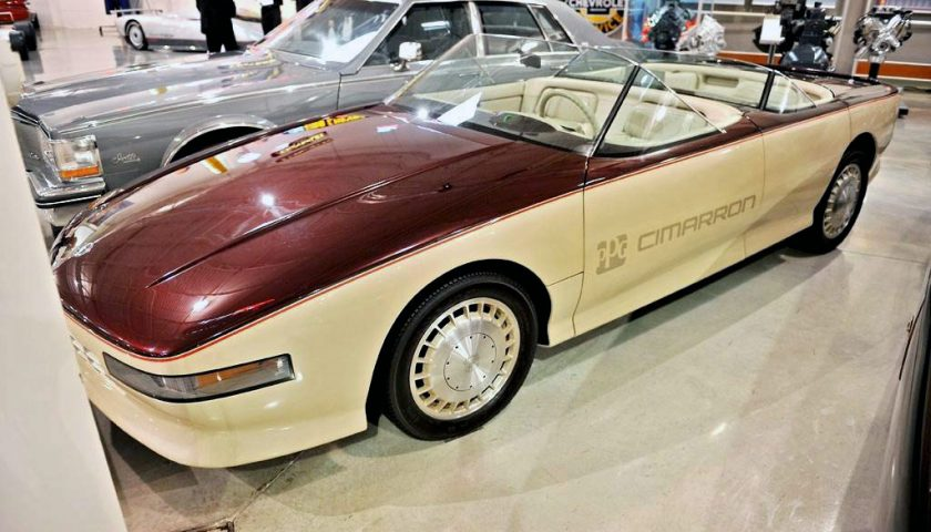 Cadillac Cimarron 1985 PPG Pace Car