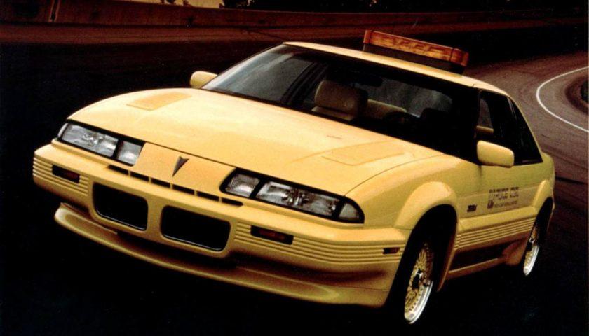 Pontiac McLaren Turbo Grand Prix 1989 PPG Pace Car