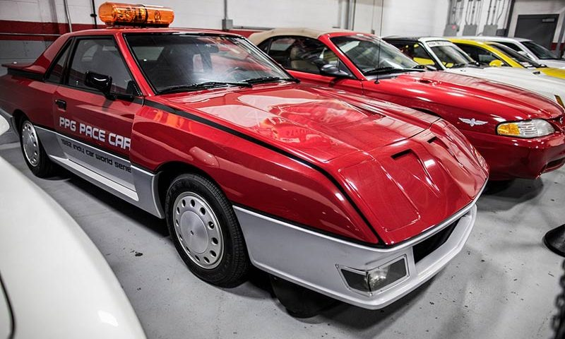 Ford EXP 1982 PPG Pace Car