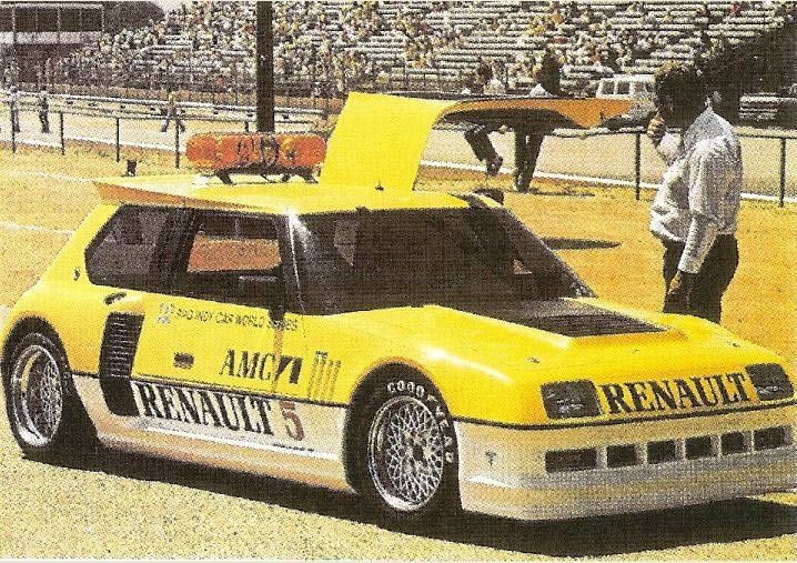 AMC Renault 5 Turbo II PPG Pace Car 1982