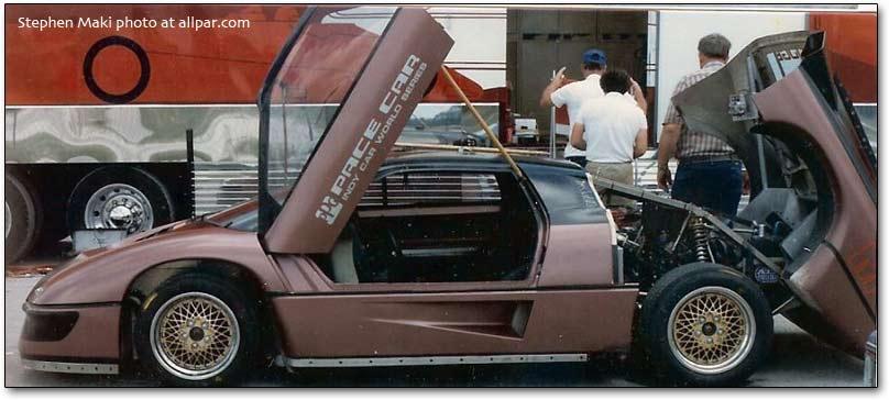 dodge m4s turbo interceptor body kit Dodge M4S Interceptor - 1986 PPG Pace Car - PPG Pace Cars