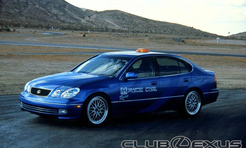 lexus gs400 ppg pace car