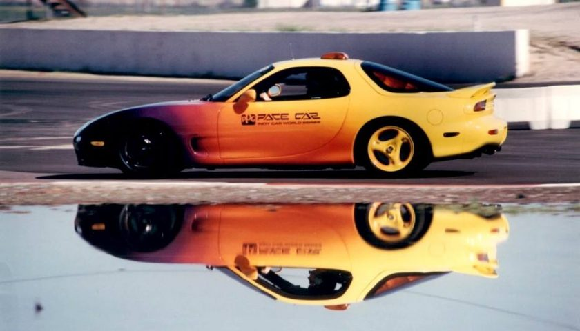 mazda rx7 ppg pace car