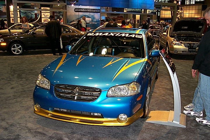 nissan maxima ppg pace car