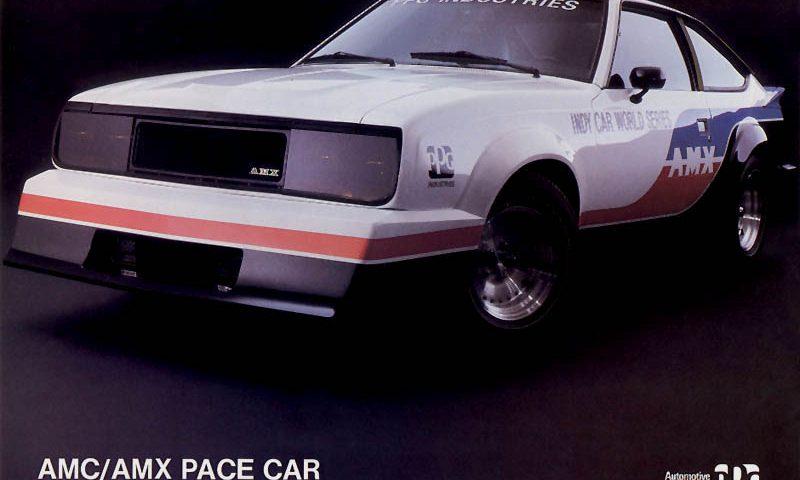 AMC AMX - 1980 PPG Pace Car