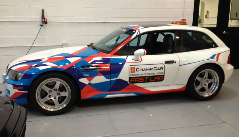 BMW M Coupe PPG Pace Car
