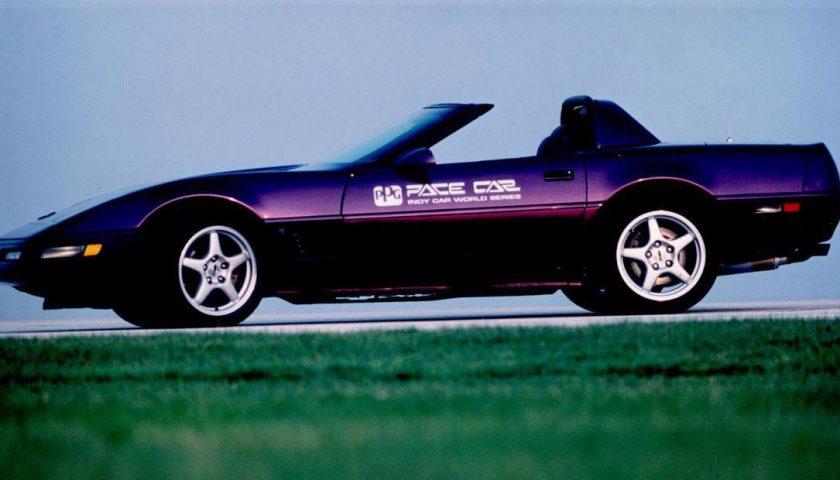 Chevrolet Corvette Convertible Purple PPG Pace Car