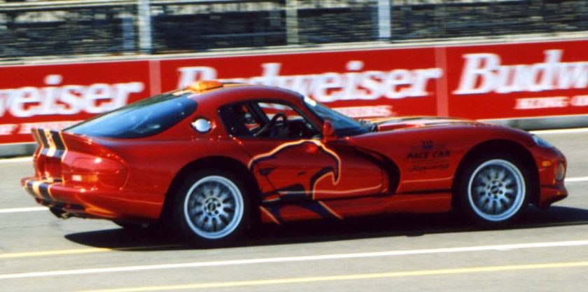1999 dodge viper gts ppg pace car