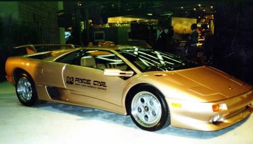 Lamborghini Diablo PPG Pace Car Gold