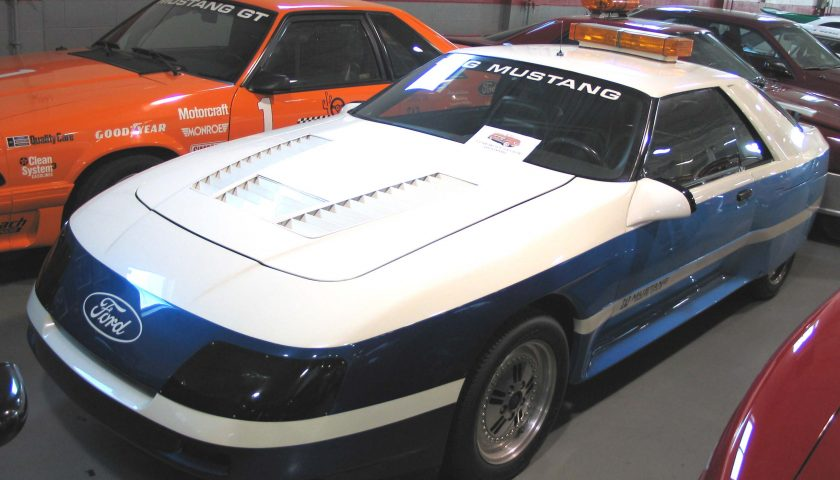 1983 mustang ppg pace car roush3